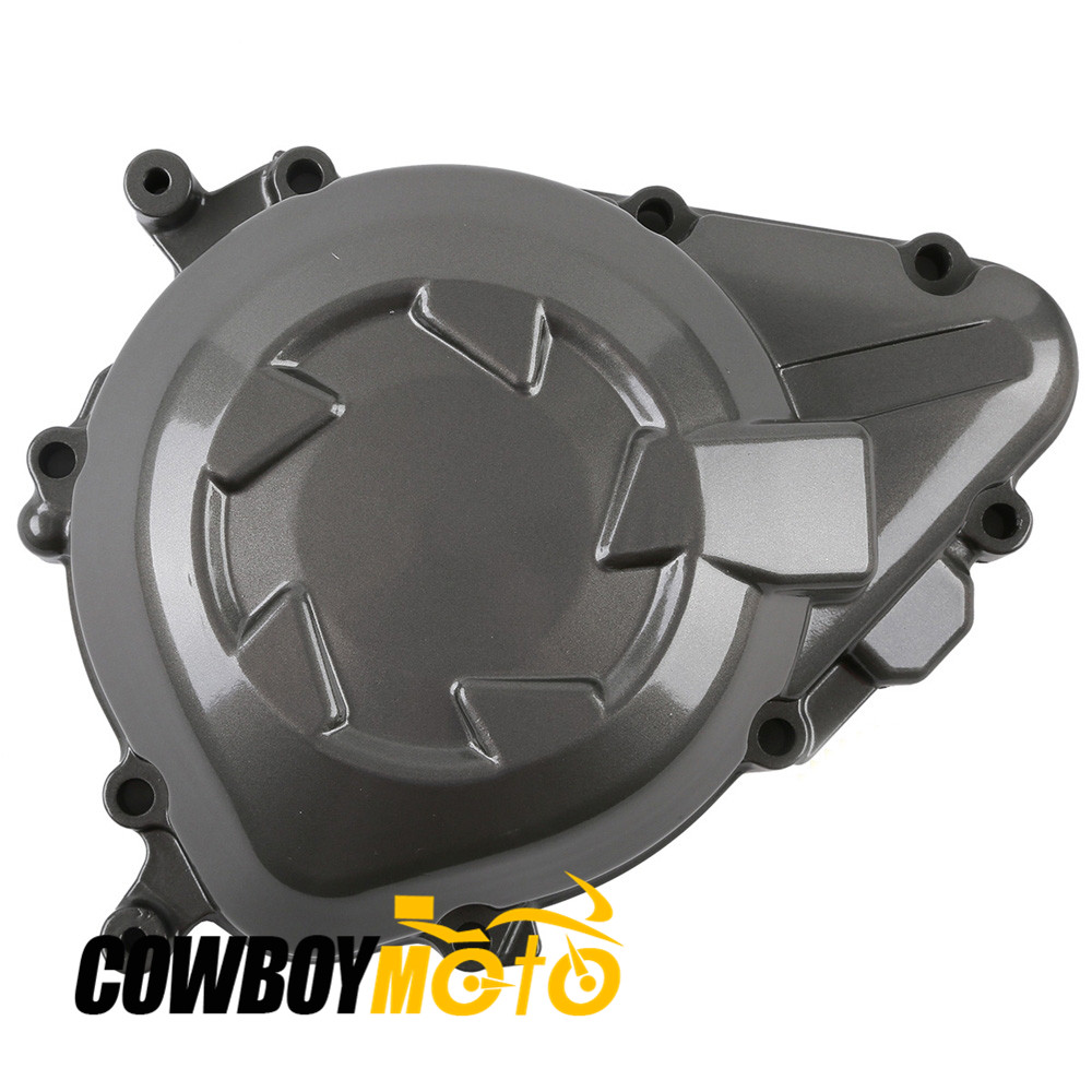 Motorcycle Left Stator Engine Crankcase Cover For 2011 - 2014 Kawasaki Z1000 11 12 13 14 New Aluminum
