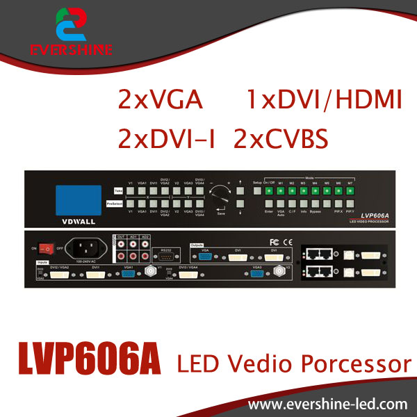 LVP606A <font><b>LED</b></font> HD Switch Station Video Wall / Advertising <font><b>LED</b></font> Display Solution For P2.5, P3, P4, P5, P10, <font><b>P16</b></font>