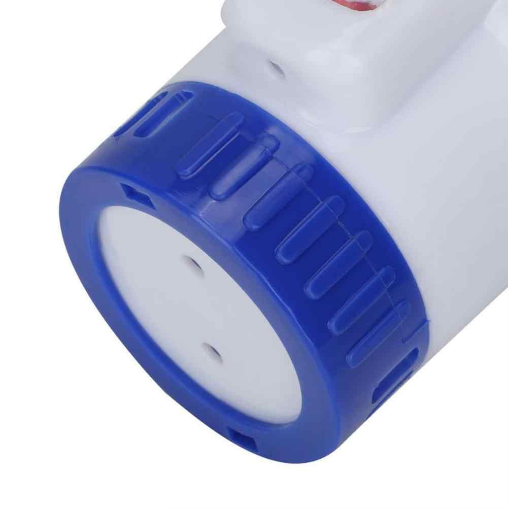 Dispensador de cloro químico flotante para piscina de 5 pulgadas con bomba de aplicación de desinfección automática del termómetro