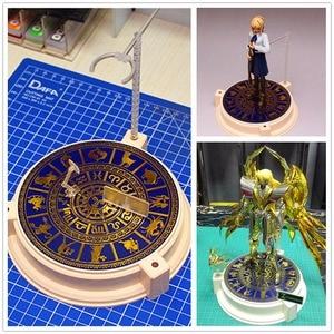 Image 1 - אנוביס Bronzing מהדורה מיוחדת שנים עשר כוכבים בסיס עבור Bandai Saint Seiya דמות & מודל אחר