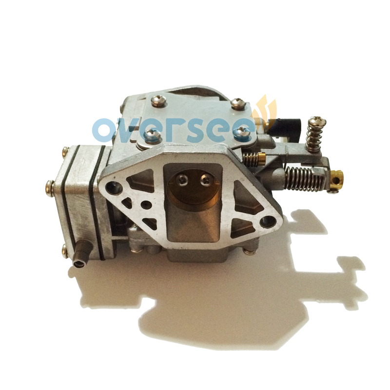6B4-14301-00 Carburetor For Yamaha 9.9HP 15HP 2 stroke New model outboard engine boat motor aftermarket parts 6B4-14301 stator for hs500 hisun500 model carburetor model