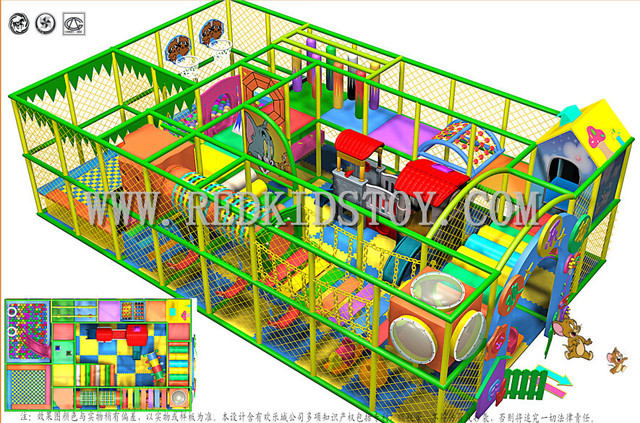 Ce Approved Children Playground Top Quality Indoor Soft Play Center