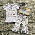 Новорожденных девочек летом наряды девушки бутик одежды вы наш величайшее приключение одежда с соответствующими оголовье