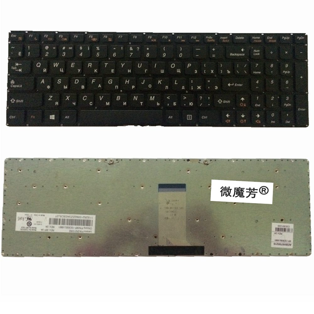 RU black New FOR Lenovo b5400 m5400 m5400a b5400 b5400a Laptop Keyboard Russian With frame laptop keyboard for dexp aquilon o142 atlas h131 h132 h133 h136 black with black frame ru russian