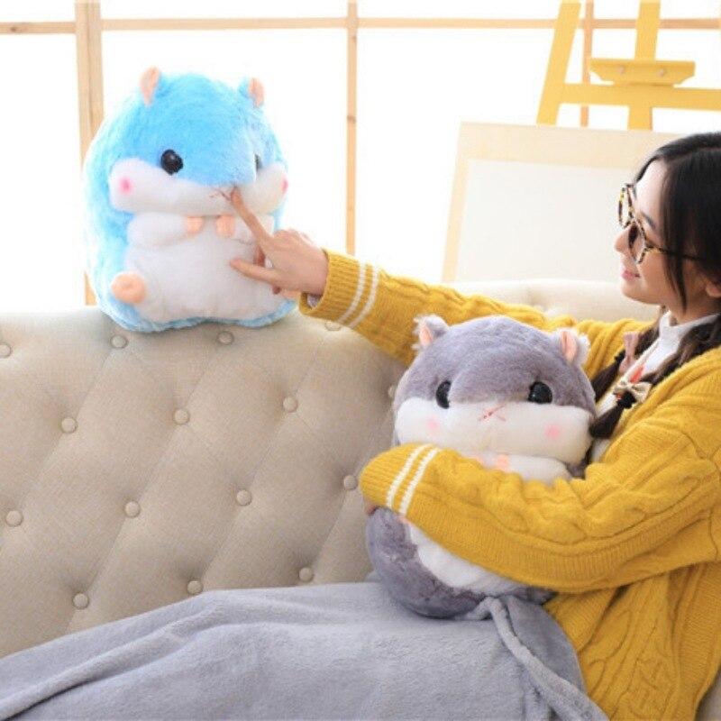 Одеяло фланелевая теплая Многофункциональный Плюшевые мультфильм укрепить бросить подушки кондиционер Одеяло домашний текстиль