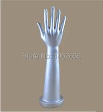 2015 Fashion ! High quality Unbreakable Pvc Realistic White Female Mannequin Hand For Glove Display