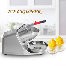 ITOP Ice Crusher CE Electric Shaver Snow Cone Maker Rasiert Smoothie Blender Aluminum Alloy Body EU/US/UK Plug
