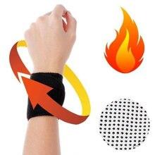 Ткань фитнес самостоятельно согревающий браслет Спорт на открытом воздухе прочный регулируемый ручной браслет фиксированное Защитное снаряжение спортивный браслет