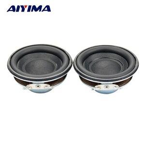 Image 2 - AIYIMA 2 шт. мини аудио динамик s 50 мм 4 Ом 5 Вт сабвуфер Мультимедийный портативный динамик усилитель звука громкий динамик DIY