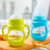 Embudo de Ancho Toddler Bebés Bebé de Silicona la Alimentación Con Biberón De Vidrio Botellas Flessen Alimentador Biberón Paja Maneja Natural 70F016