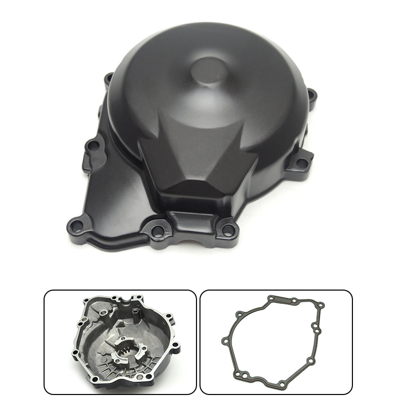 New 2006-2012 YZF R6 Stator Engine Cover Crank Case with Gasket Fit for Yamaha YZF R6 2006 2007 2008 2009 2010 2011 2012 motorcycle accessories custom fairing screw bolt windscreen screw for yamaha yzf r1 r6 2005 2006 2007 2008 2009 2010 2011 2012