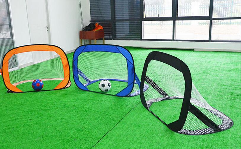 120*85**85CM multipurpose Portable Folding football gate Beach Soccer goal net Fans supplies  soccer fans football colorful hair coser wig wild curl up tuba ball blast head clown hilarit party headwearing