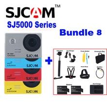Original SJCAM SJ5000 SJ5000X Elite Plus SJ5000 WIFI SJ 5000 30 M Cámara de Acción Deportiva Impermeable Sj Cam DV Con Muchos accesorios