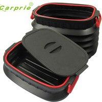 Dropship Hot Selling 18L Car Trunk Foldable Rubbish Container Portable Plastic Water Barrel Organizer Box Gift