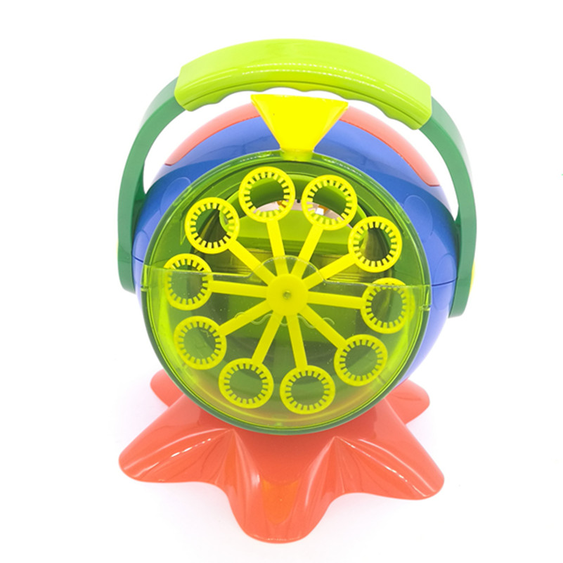 Automatic Big Soap Machine Bubbles Maker Toy,Electronic Bubble Machine,Bubble Gun Burbujas Blower Toy for Party Outdoor Xmas Toy