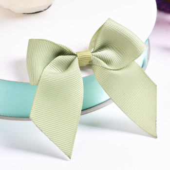 Free Shipping 500pcs/lot Gift Package Ribbon Bow Handmade DIY Ribbon Bow Gift Box Ribbon Bow Solid Color
