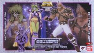 "Image 2 - Figurine animé ""Saint Seiya"" originale BANDAI Tamashii Nations Saint tissu mythe Ophiuchus Shaina & Cassius"