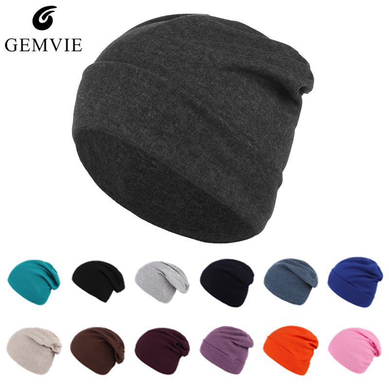 13 Colors Solid Color   Beanies   Caps Spring Autumn Unisex Knit   Beanies   Men Women Casual Light Thin Cotton Knitted   Skullies     Beanies