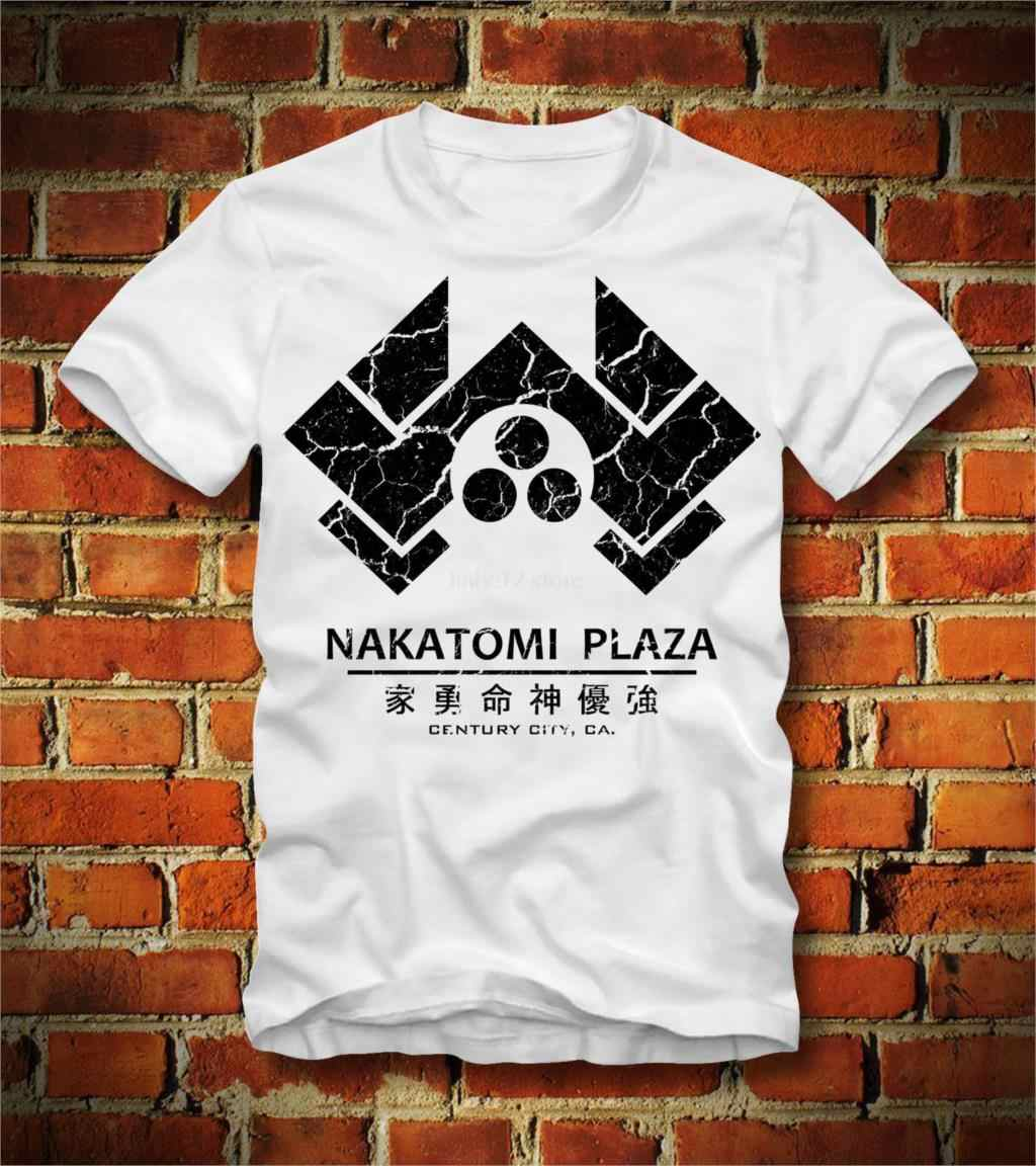 dce53e2a 2019 New Summer Tee Shirt Funny T SHIRT NAKATOMI PLAZA TOWERS CORPORATION DIE  HARD BRUCE WILLIS
