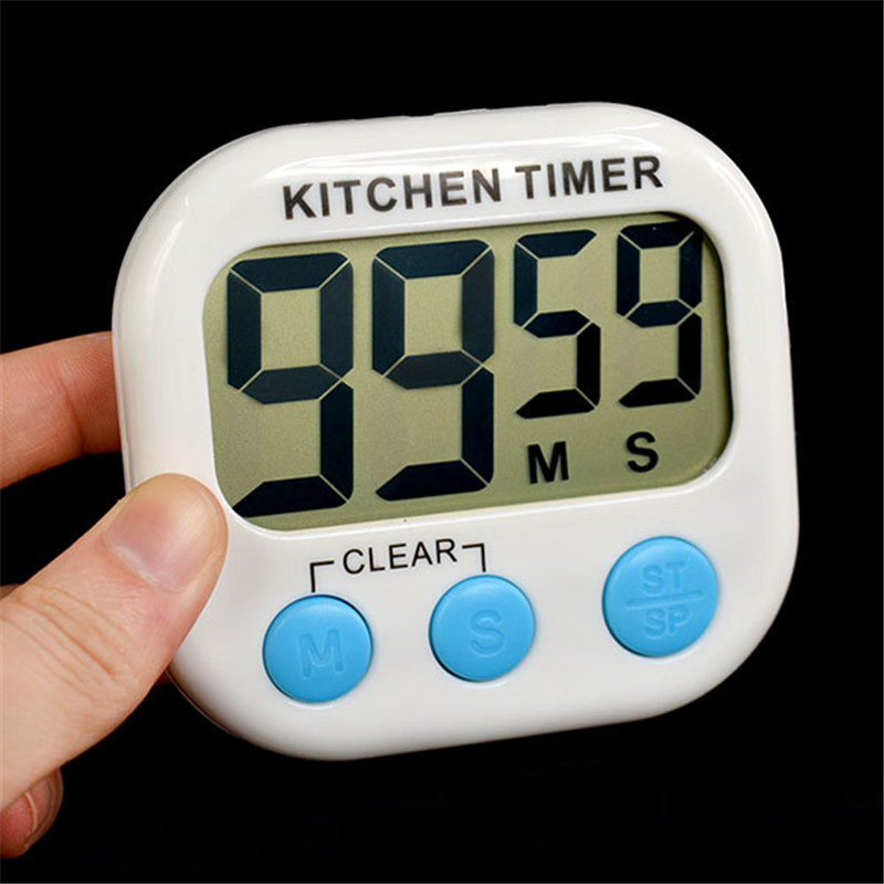 Large LCD Digital Kitchen Cooking Timer Count Down Up