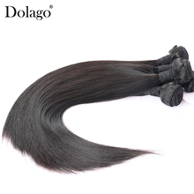 Brazilian Hair Straight 100 Human Hair Weave Bundles Can Buy 3 or 4 Natural Black Color