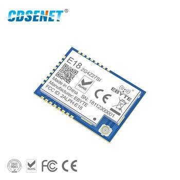 Red de malla Zigbee CC2530 27dBm PA CC2592 E18-2G4Z27SI SMD conector ipex puerto IO 500mW receptor transmisor de largo alcance