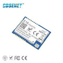 ZigBee เครือข่ายตาข่าย CC2530 27dBm PA CC2592 E18 2G4Z27SI SMD IPEX Connector พอร์ต IO 500mW Long Range ตัวรับสัญญาณ