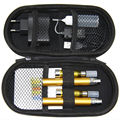 Venta caliente 10 unids/lote regalo pluma vape atomizador EGO t ce4 e líquido Doble kit de Cigarrillo Electrónico cigarrillos electrónicos hookah caso