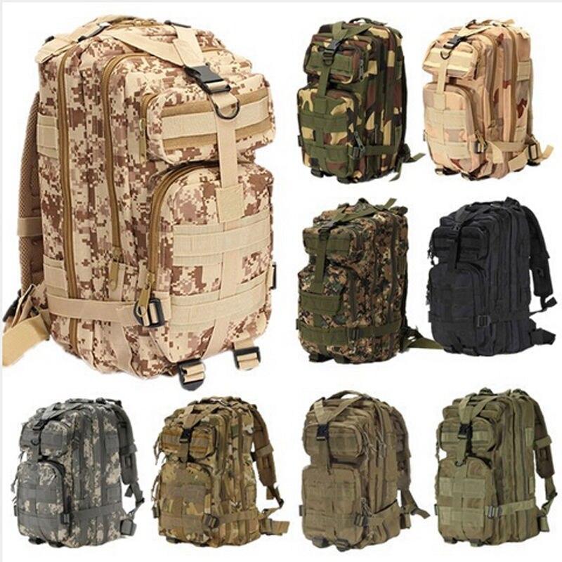 Nouveaux hommes en plein air toile sac à dos militaire tactique sacs à dos cartable randonnée Camping Camouflage sac à dos sac de voyage
