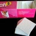 Best Deal 325 unidades/pacote Nail Art Gel Polonês Removedor de Algodão Pad Prego Limpar Remoção Wraps para Nair Aet Beleza