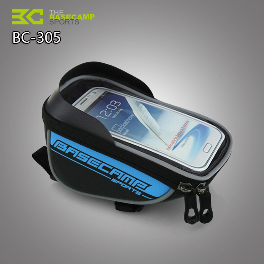 MTB Mountain Waterproof Bicycle bag Bike Mount Holder Case Bicycle Cover For Mobile Phone Touch Screen Sales Promotion Bike Bags