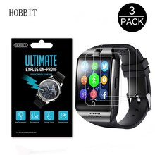 3Pack Explosion-Proof Screen Protector For LEMFO Q18 Anti-scratch Anti-bubbles For LEMFO Bluetooth Smart Watch Men Q18 Film