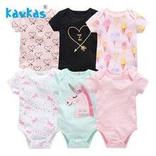 Bobo choses/платье для новорожденной для маленьких девочек для сна комплект одежды 6 шт./компл. короткий рукав Летние пижамы для детей, одежда для сна, пижамный комплект bebes кукла трансфер до nouveau