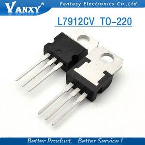 Image 4 - 10 PCS L7912CV TO220 L7912 ZU 220 7912 LM7912 MC7912 neue und original IC