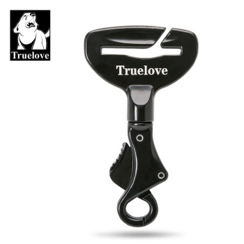 Truelove Vehicle Car Pet Dog Seat Belt Lock Harness Collar Clip Safety Lighweight Durable Aluminimum Alloy Dog Supplies Dropship