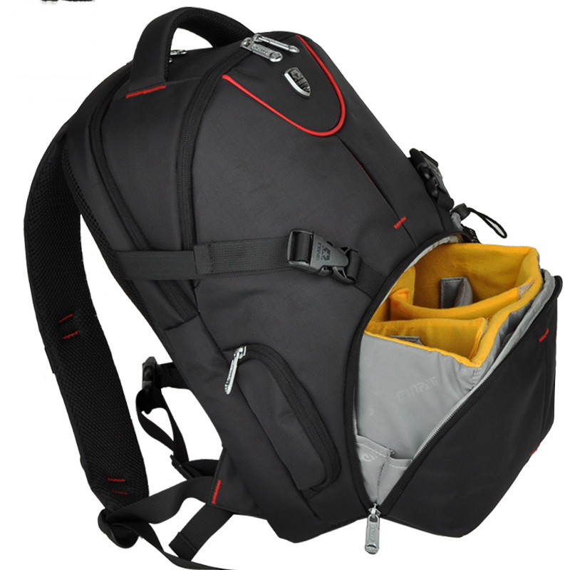 Multi-functional Black Camara Bag Travelling Backpack SY-02 Large Capacity Free Shipping sweet years sy 6130l 24