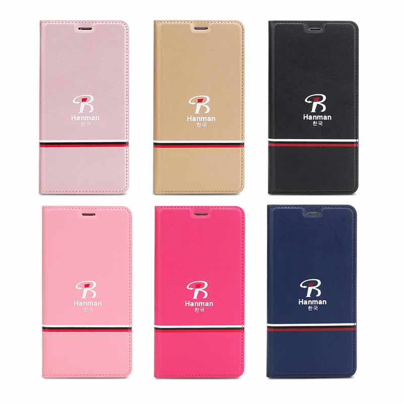 Ultra-thin protection mobile phone holster simple solid color flip magnetic adsorption for Mac