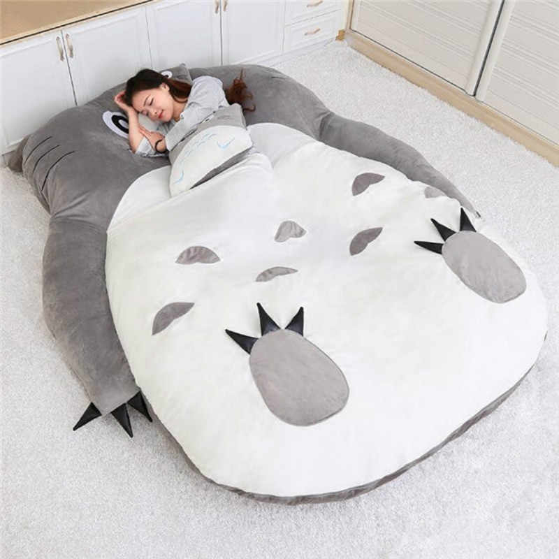 Cat type lazy sofa bed man Girl cartoon cat mattress cute creative bedroom small sofa bed chair