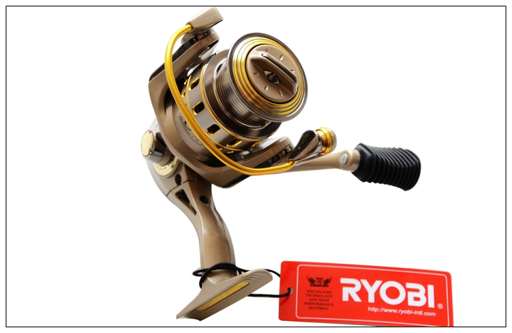 RYOBI fishing line reel TRESOR 1000/2000/3000/4000 spinning reel 5+1BB metal lure fishing wheel smooth 100% original reebok rstb 10082