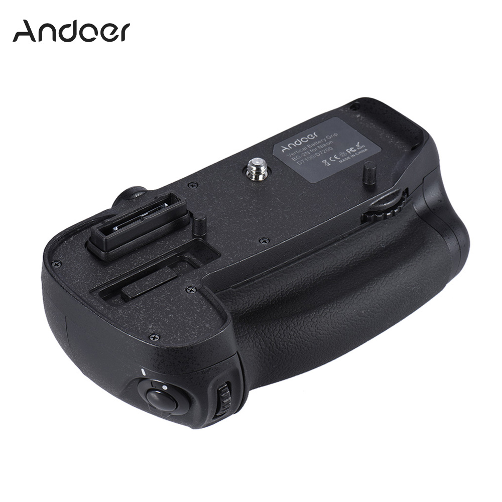Camera & Photo Accessories Back To Search Resultsconsumer Electronics Rapture Andoer Bg-2n Vertical Battery Grip Holder For Nikon D7100/d7200 Dslr Camera Compatible With En-el Battery
