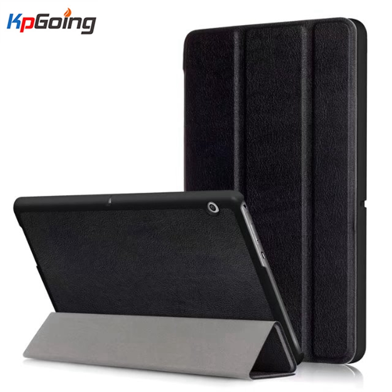 Case for Huawei MediaPad T3 10 Shell Fundas Coque PU Leather Tri-fold Stand Flip Cover Case for Huawei MediaPad T3 10 Inch Cover