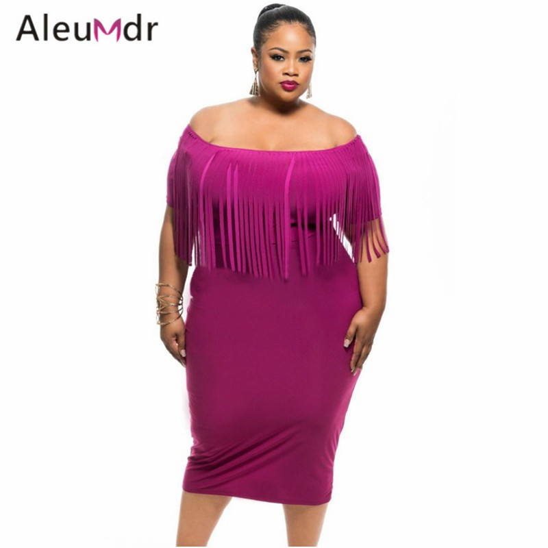 Aleumdr Plus Size Women Clothing 2017 Sexy Off The