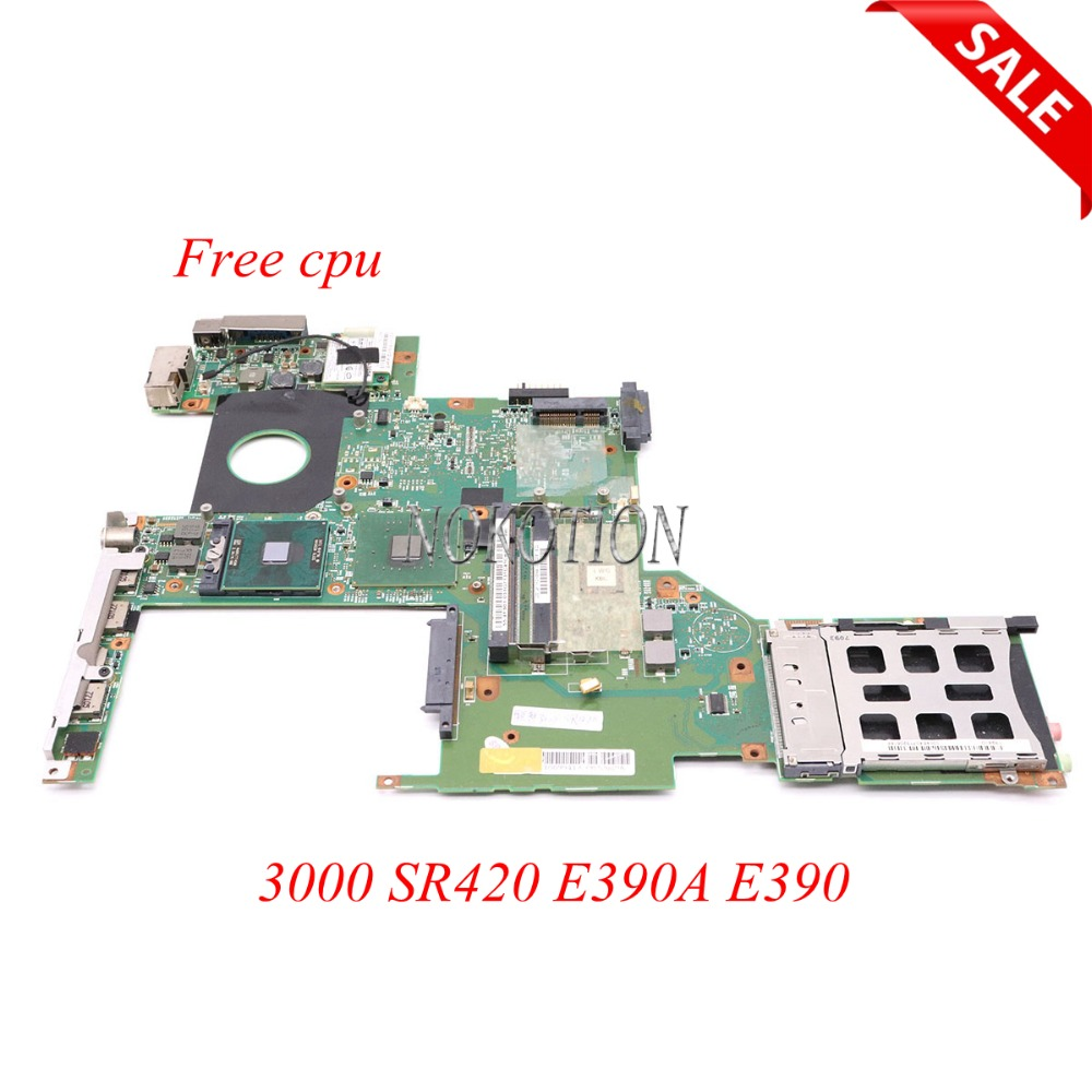 NOKOTION 48.4Q801.01N 55.4F901.031 Laptop motherboard For lenovo 3000 SR420 E390A E390 945GM DDR2 main board free cpu la 5971p for lenovo g455 laptop motherboard hd 4250m ddr2 free cpu
