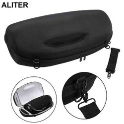 Viagem portátil carry caso capa saco com alça de ombro para boombox alto-falante sem fio bluetooth e carregador
