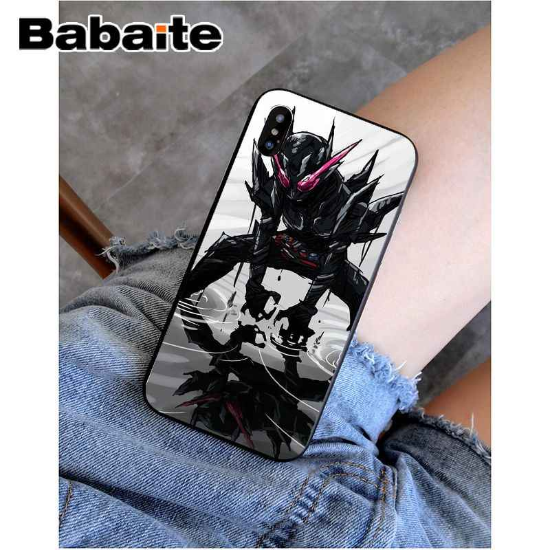 Babaite kamen rider construir luxo design exclusivo capa de telefone para apple iphone 8 7 6 s plus x xs max 5 5S se xr capa móvel