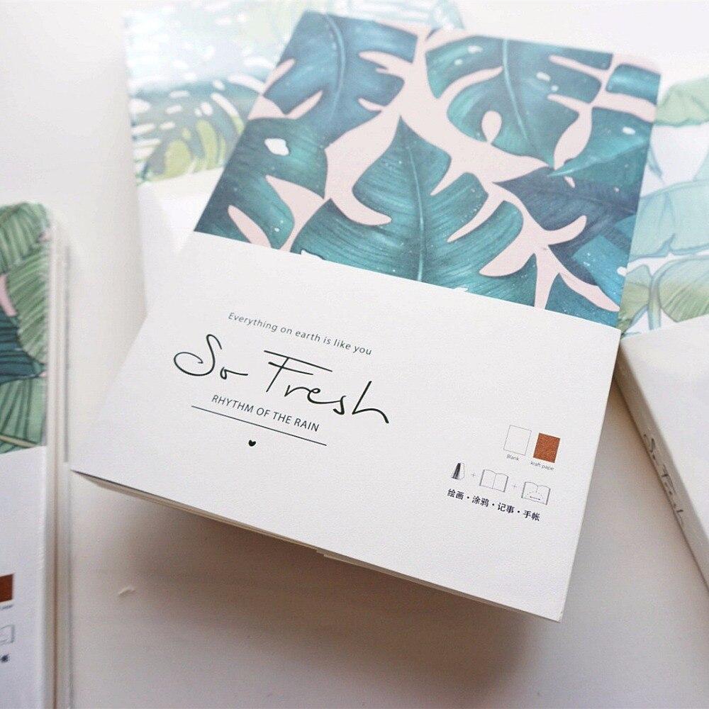 """""""so Frisch"""" Schöne Zeichnung Sketch Journal Notebook Blank Papiere Studie Notizblock"""