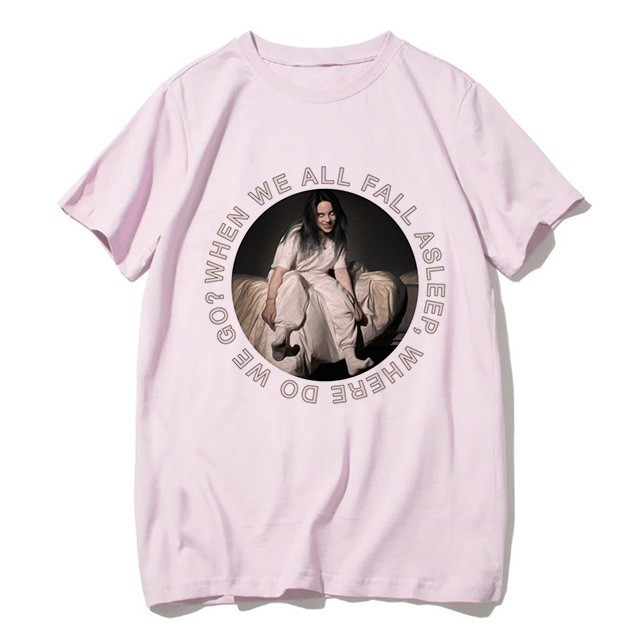 BILLIE EILISH PINK T-SHIRT (30 VARIAN)