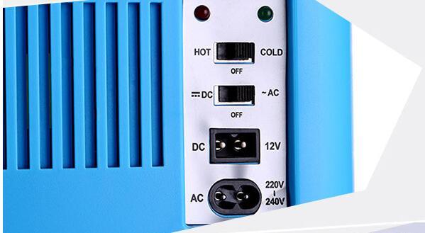 Calore auto Elettrica 12 V Riscaldamento auto Frigorifero del dispositivo di Raffreddamento di raffreddamento + + caldo Compatto Portatile A doppio uso Auto/casa Mini Frigo 12 V 10 L - 3