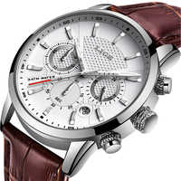 LIGE 2019 Neue Uhr Männer Modus Sport Quarz Uhr Herren Uhren Marke Luxus Leder Business Wasserdichte Uhr Relogio Masculino + box