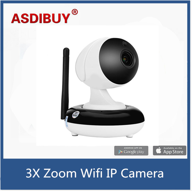 ФОТО 720P resolution 3x optical zoom indoor wifi ip camera smart phone remote access baby care wifi cam